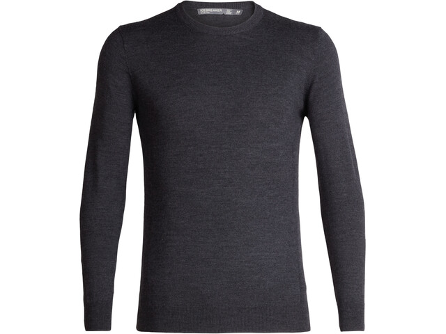 Icebreaker Shearer Crewe Sweater Herre char heather